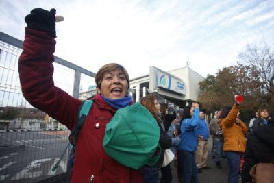 """Sindicato de Walmart al inicio de la huelga: """"Necesitamos protección"""""""