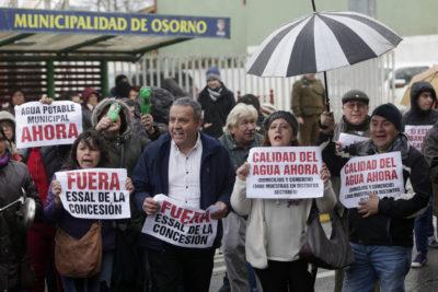 SISS analiza posibilidad de terminar la concesión de Essal en Osorno