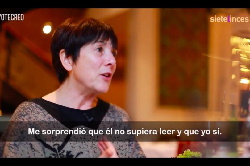 """VIDEO  Paulina García: """"Al lado de lo que cuentan las mujeres que se cruzaron en el camino de Nicolás López, yo encontraba que mi historia era irrelevante"""""""