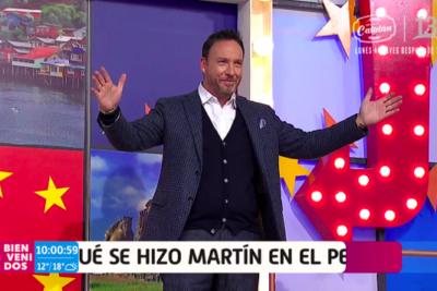 """""""Quiere ser Felipe Camiroaga"""": Los comentarios que dejó el sorpresivo cambio de look de Martín Cárcamo"""