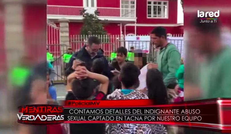 VIDEO |Equipo de La Red registra abuso sexual de venezolano a menor de edad