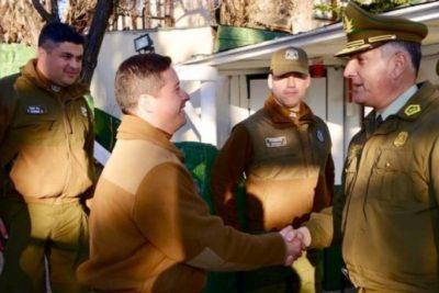 General Director de Carabineros respaldó a efectivos que detuvieron a Catalina Pulido
