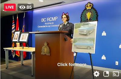 Policía canadiense olvida desactivar el filtro de gato en conferencia por asesinato