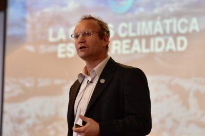 """Gonzalo Muñoz: """"Nuestro compromiso es hacer que la COP25 sea lo más ciudadana posible"""""""