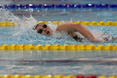 Köbrich no pudo avanzar a las finales de los 1.500 metros en Mundial de Natación