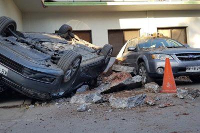 Fuerte explosión en fábrica de la comuna de Macul