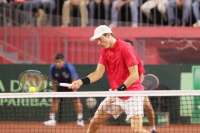 Jarry también avanzó en dobles de Bastad y Garin se despidió definitivamente