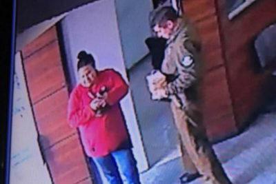 Intensa búsqueda de mujer que dejó bomba en comisaría de Huechuraba