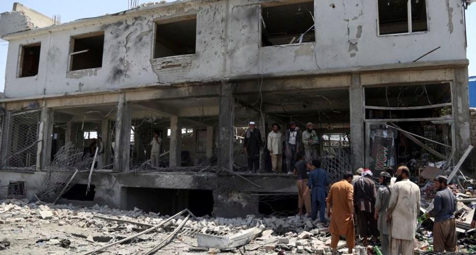 """""""Afganistán: tres atentados dejan 10 muertos y más de 40 heridos"""""""