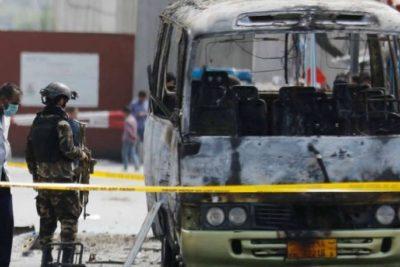 Afganistán: Más de 30 personas murieron y decenas quedaron heridas por la explosión de una bomba en un bus