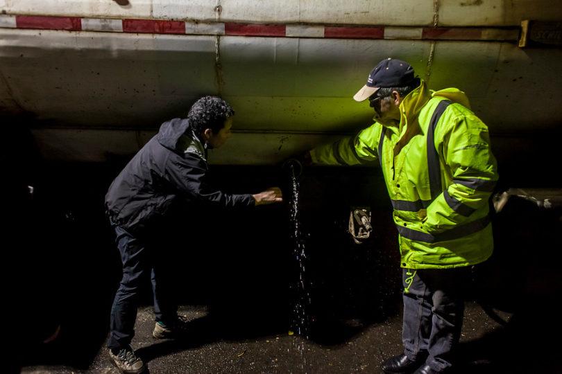 Essal confirma que un operario abrió la llave del petróleo