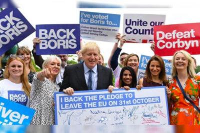 Boris Johnson es electo como el nuevo Primer Ministro de Gran Bretaña