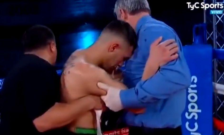 """""""Nueva muerte en el boxeo: argentino Hugo Santillán se desvaneció tras una pelea"""""""