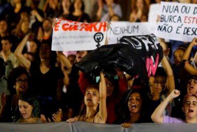 ¡Paren de matarnos!: Mujeres protestaron contra el racismo en Río de Janeiro