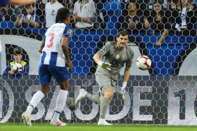 Iker Casillas volvió a entrenar en el Porto tras sufrir un infarto