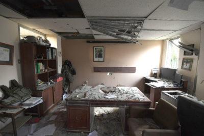 Revelan imágenes de comisaría de Huechuraba tras detonación de explosivo