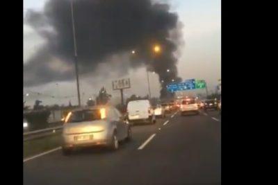 Barricadas provocaron alta congestión en autopista Vespucio Norte al oriente