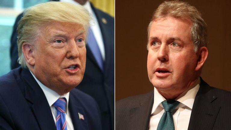 Renunció embajador británico en EE.UU. tras polémica con Donald Trump