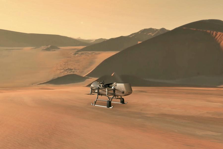 Chileno trabaja en misión para enviar dron de la NASA a luna de Saturno