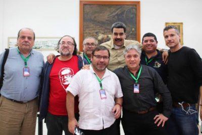 Con el PC incluido: Foro de Sao Paulo declaró su apoyo a la demanda marítima boliviana