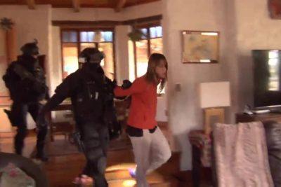 """PDI revela que se hallaron restos de """"inusual"""" fogata en vivienda de Natalia Guerra"""
