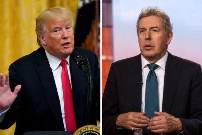 """Fuego Cruzado: Trump trata al embajador británico de """"chiflado, estúpido e imbécil"""""""