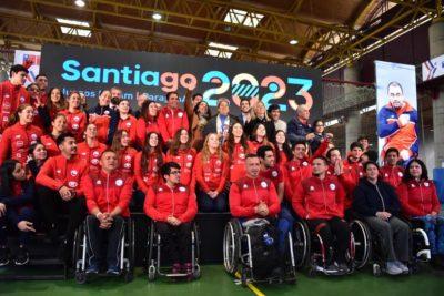 Presentan logo oficial de los Juegos Panamericanos Santiago 2023