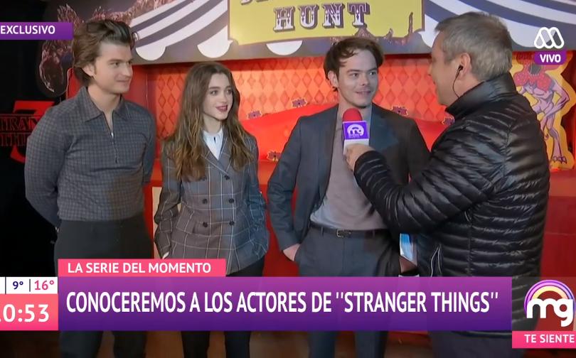Vinuela Es Troleado Por Entrevista A Actores De Stranger Things