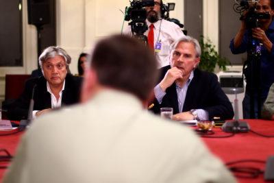 La acalorada discusión entre Navarro y Moreira en la Comisión de DD.HH. del Senado