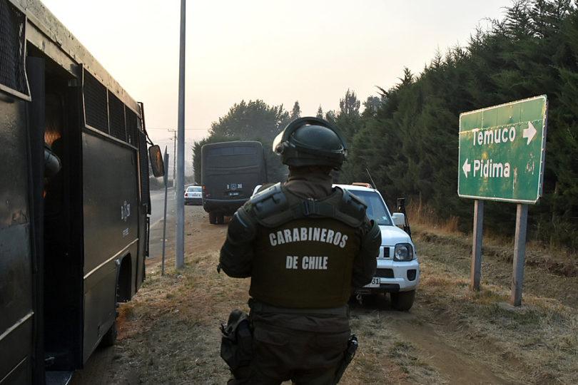 Dos comuneros mapuche resultan heridos por perdigones en Ercilla