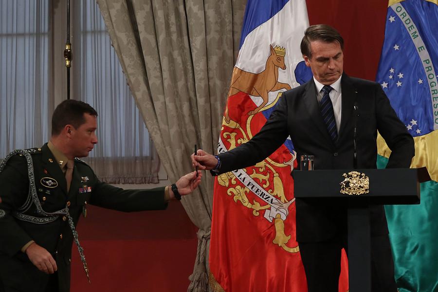 Bolsonaro dijo que un triunfo kirchnerista podría generar una crisis migratoria