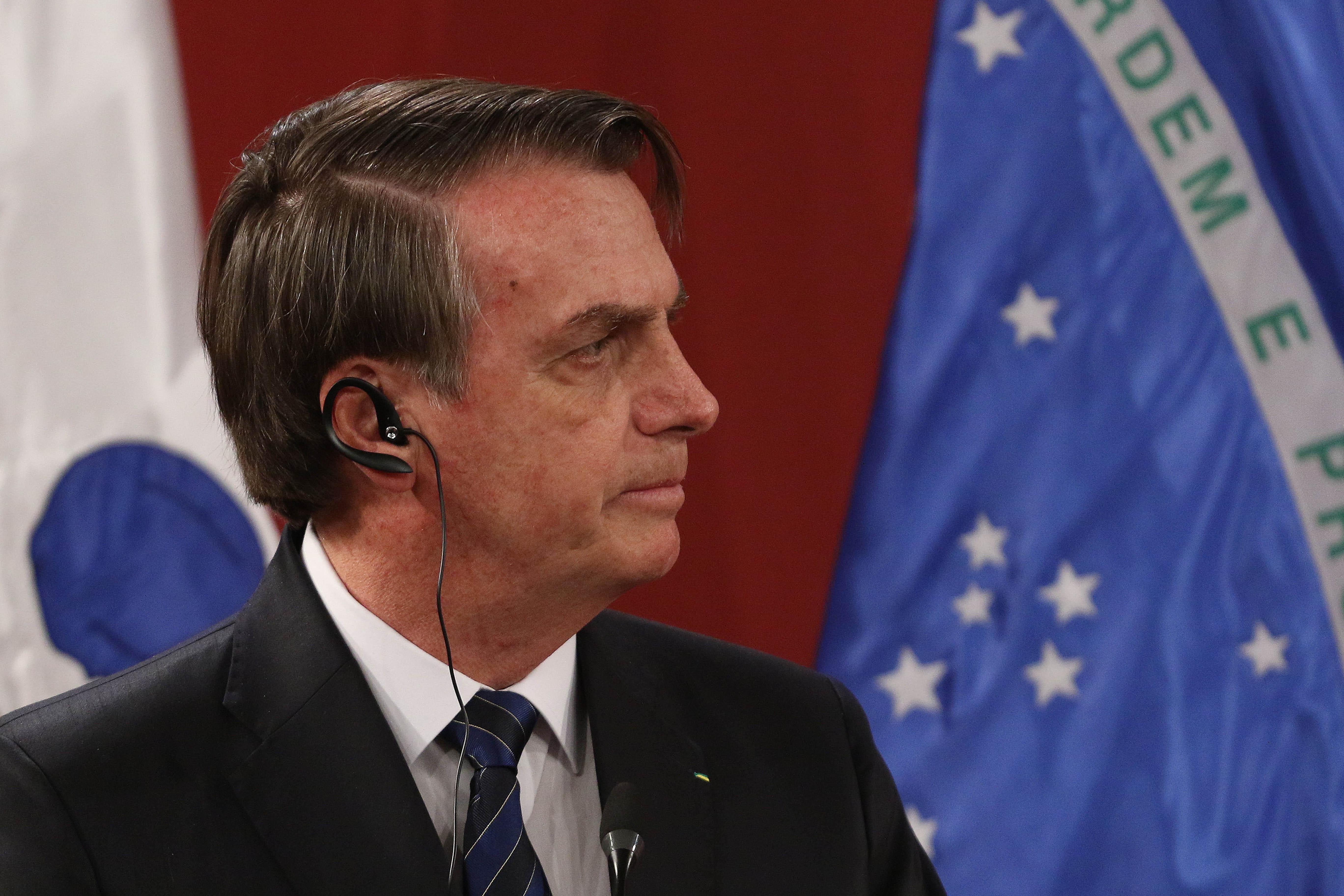 Bolsonaro tras salida de