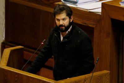 Boric devolverá $450 mil pesos y no $3,7 millones por cuestionamientos a uso de sede parlamentaria