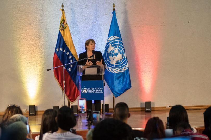 """Bachelet : """"Nuevas sanciones a Venezuela pueden tener un impacto severo"""""""