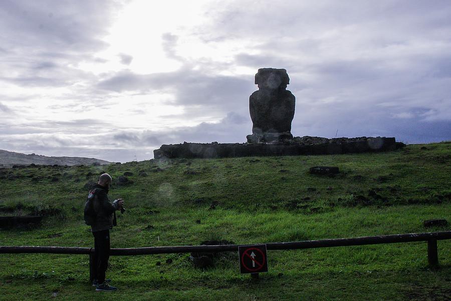 """""""Vientos huracanados generan voladuras de techos y caída de árboles en Rapa Nui"""""""