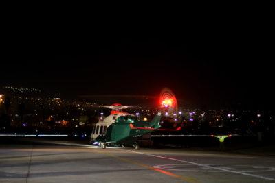 Helicóptero de Carabineros inició patrullajes aéreos preventivos en Valparaíso