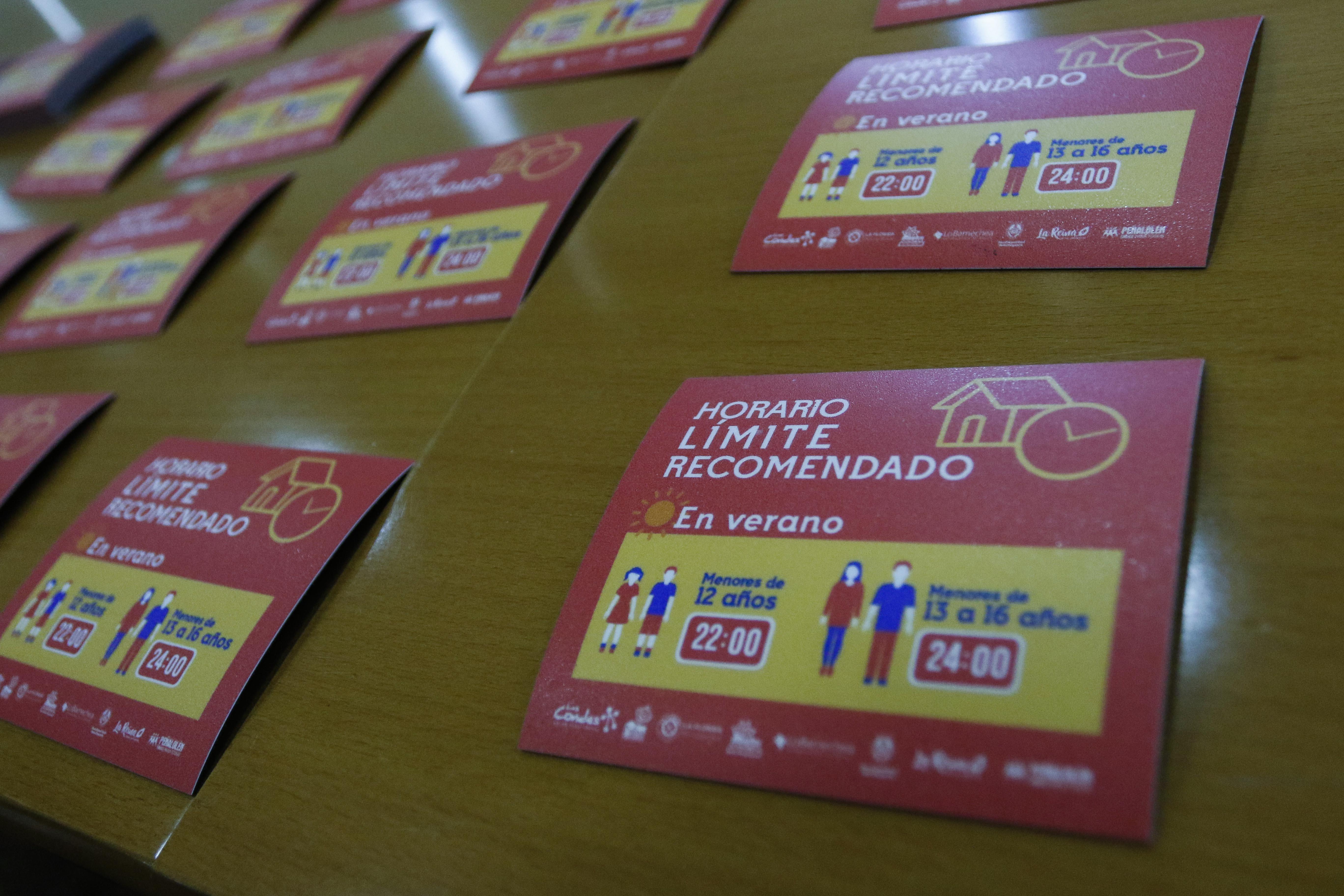 """""""Horario límite para menores comenzaría a regir antes de Fiestas Patrias"""""""