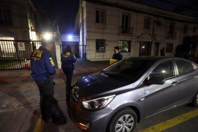 Desconocidos roban en sede de Renovación Nacional en Providencia