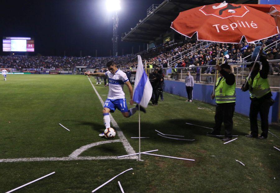 """""""UC denunciará a hinchas de Coquimbo Unido por lanzamiento de objetos en San Carlos"""""""