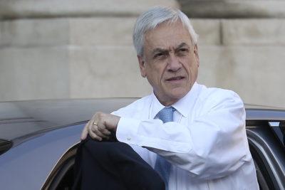 Piñera llegó de sorpresa a reunión de Chile Vamos por jornada laboral