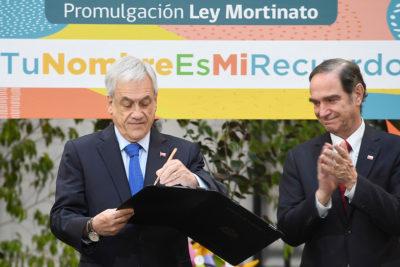 Piñera promulga ley que da nombre y apellido a mortinatos