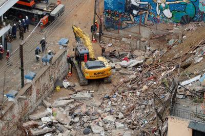 Intendencia: se encontró a último desaparecido y descartó más víctimas en derrumbe