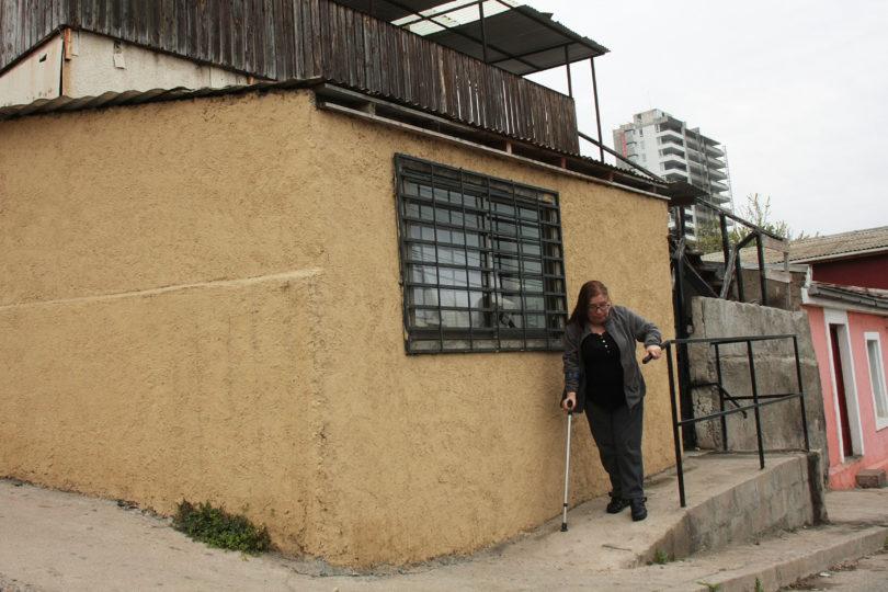 Mujer debe ir presa por construir rampa afuera de su casa en Viña del Mar