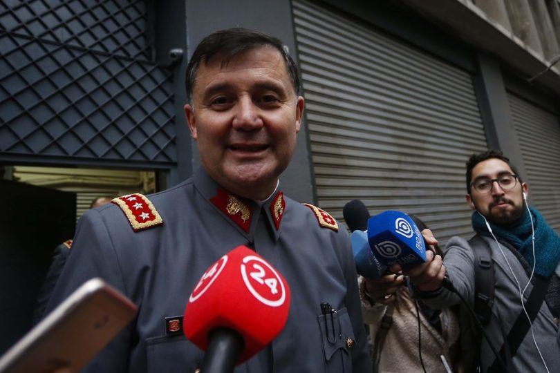 """General Martínez insiste en que escuchas telefónicas fueron """"legales"""""""