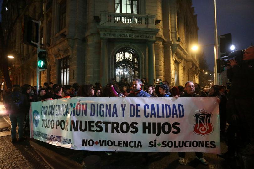 Alcalde Alessandri descartó el cierre anticipado del año escolar en Instituto Nacional