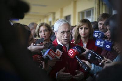 """Presidente Piñera explica rebaja de condena de """"Comandante Ramiro"""""""