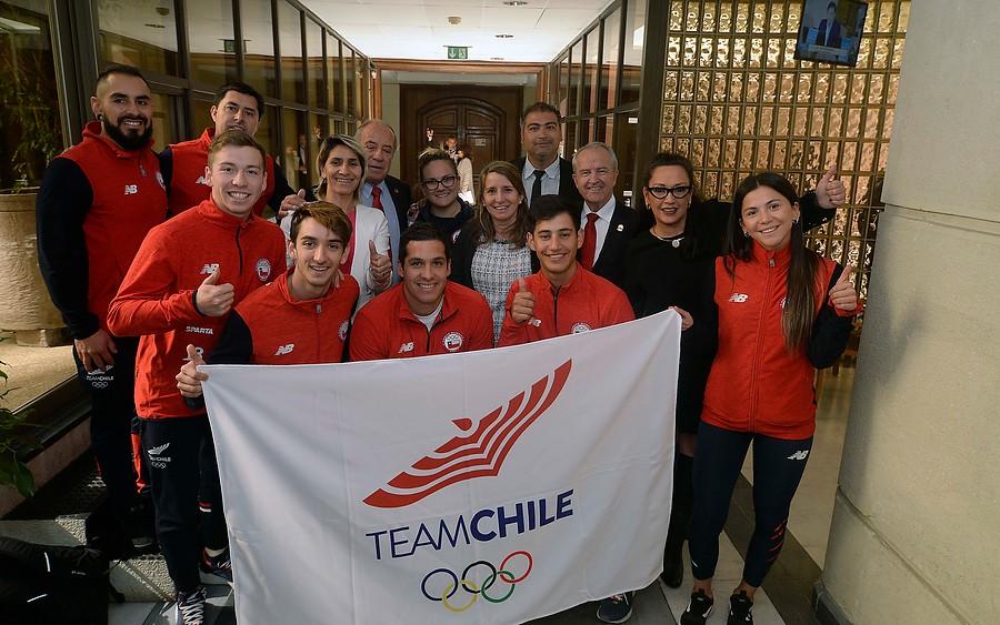 Cámara de Diputados homenajeó al Team Chile por su participación en los Panamericanos
