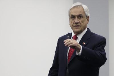 Piñera se reunirá con presidente de la Cámara y del Senado en medio de tensión con el PS