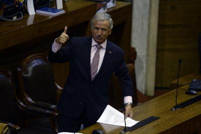 """Larraín valoró aprobación de la Reforma Tributaria en la Cámara: """"Con esto ganan todos los chilenos"""""""