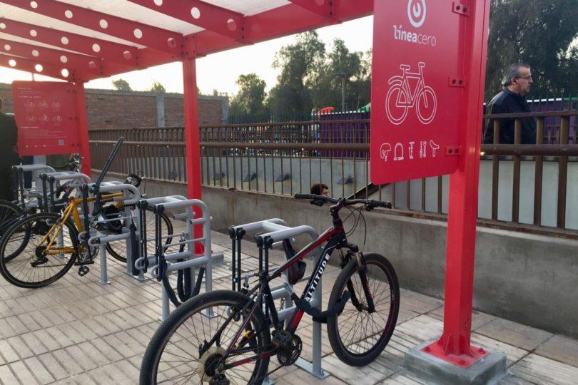 vanguardia de los tiempos sitio autorizado bastante baratas Nuevos estacionamientos para bicicletas en el Metro de Santiago